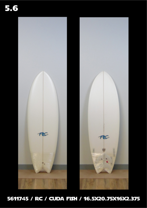 Ricky Carroll Surfboards Cuda Fish