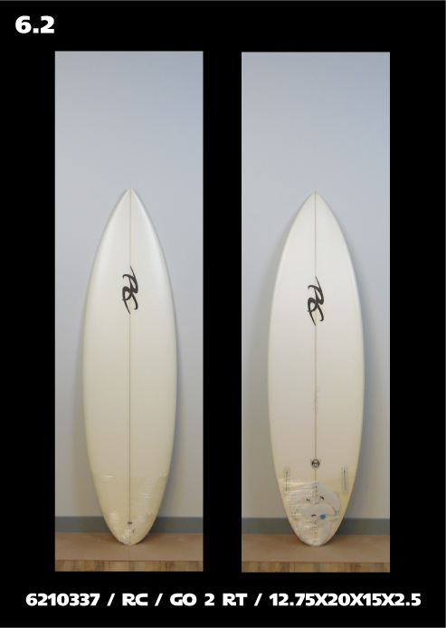 Ricky Carroll Surfboards Go 2 RT