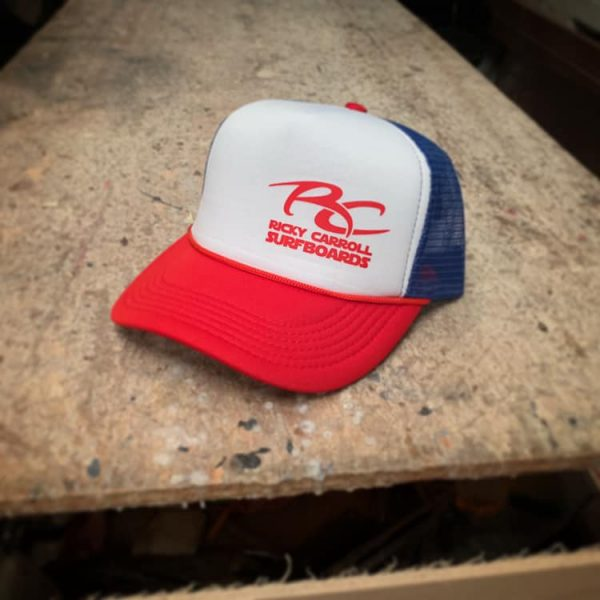 4th of July Ricky Carroll Surfboards Trucker Hat