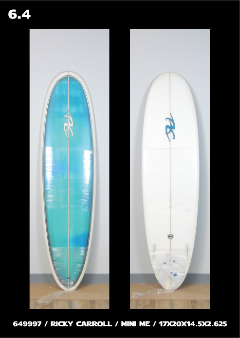 Ricky Carroll Surfboards TMM & Mini Me