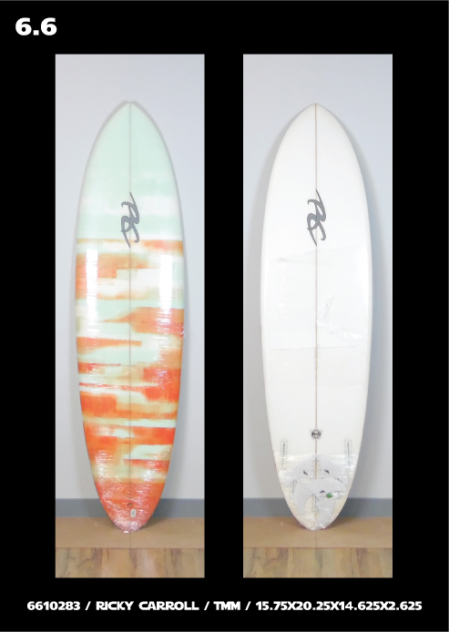 Ricky Carroll Surfboards East Coast Florida