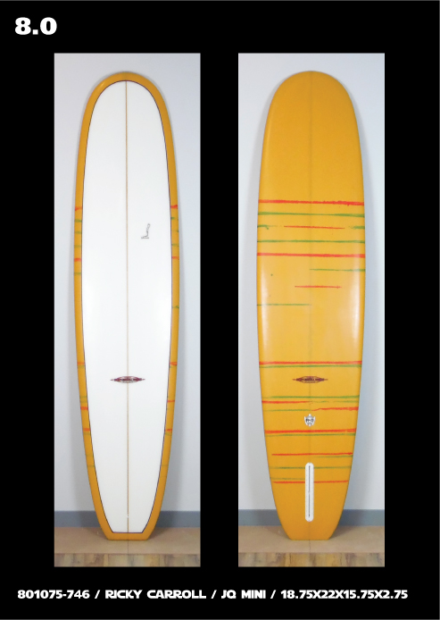 Ricky Carroll Surfboards JQ Pig