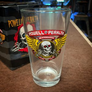 Powell Peralta Skateboarding Winged Ripper Pint Glass