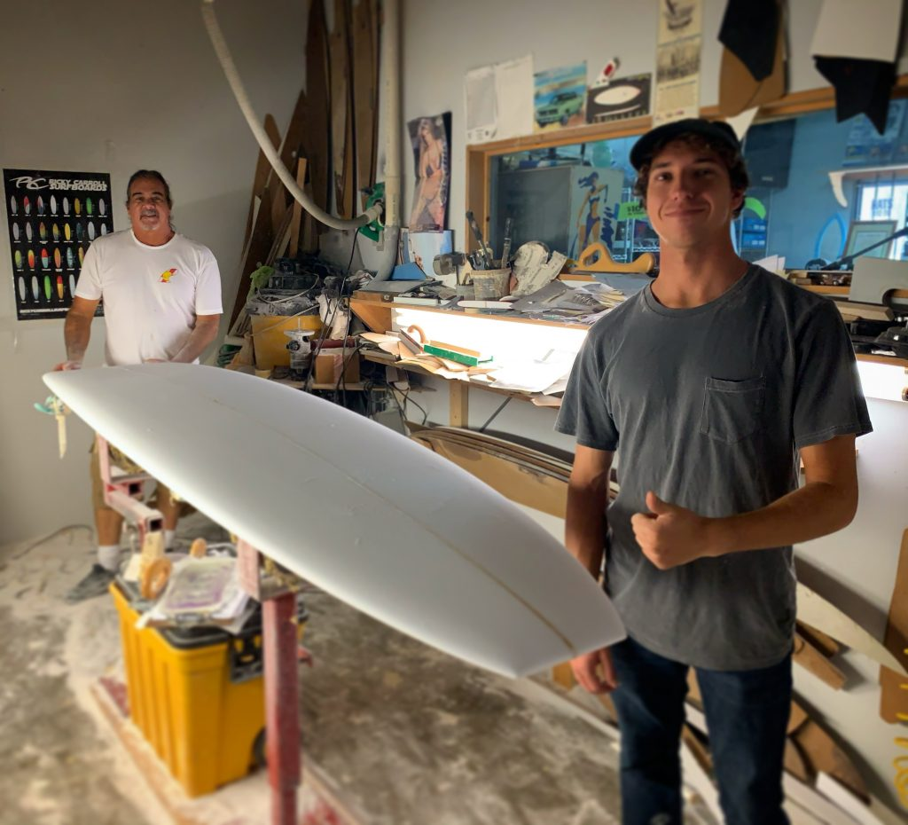 Please help us welcome Steven McLean to the Ricky Carroll Surfboards Team
