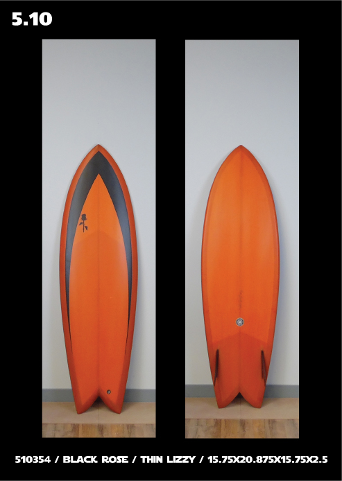 Black Rose Surfboards Fish