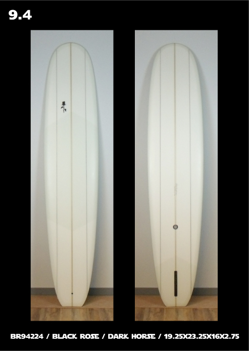 Black Rose Manufacturing - Dark Horse Longboard Surfboard