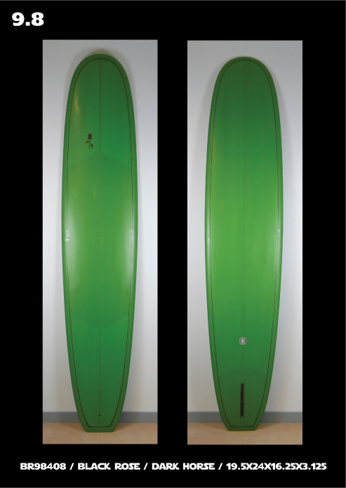 Black Rose Manufacturing Surfboards