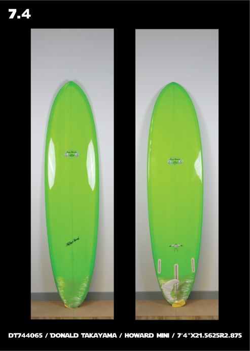 Howard Special Mini - Surfboards by Donald Takayama