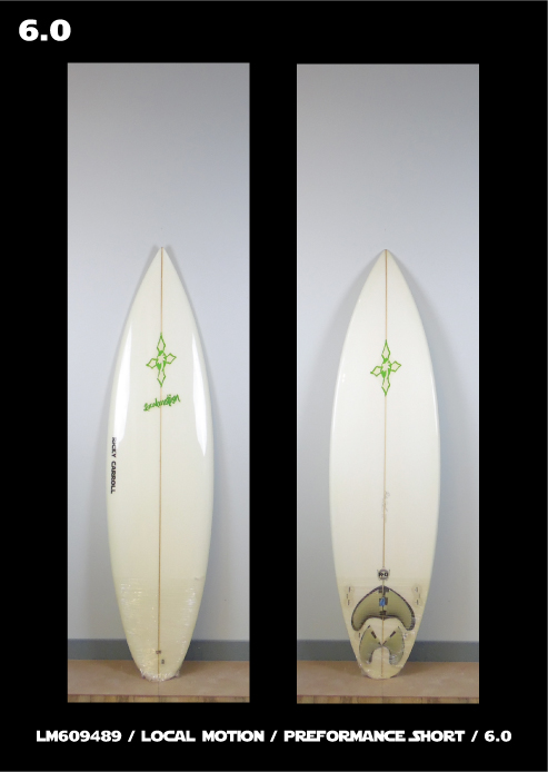 Local Motion Surfboards Performance Shortboard