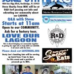 MRC will be at R&D SURF June 8th Educating our Community about our Lagoon