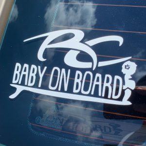 RC Baby on Board Girl Sticker