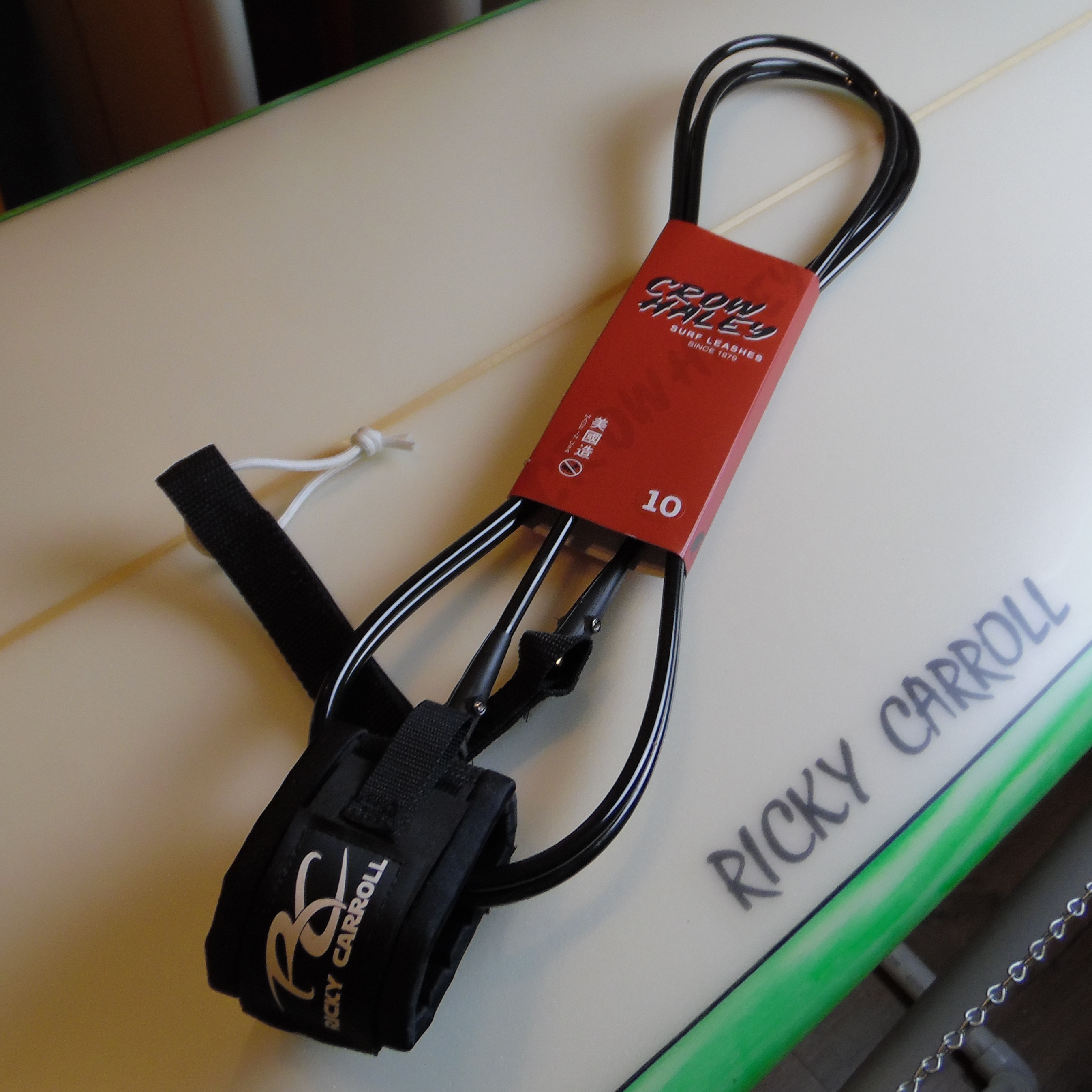 10' Ricky Carroll Standard Surfboard Leash