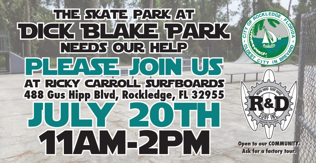 Community Event at RCs to Help the Skate Park at Dick Blake Park