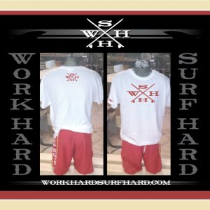 WHxSH – Work Hard Surf Hard – W/R Large Shirt