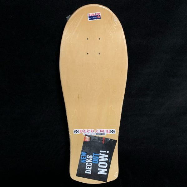 Limited Edition Fred Smith 3 Beer City Loud One Reissue Skateboard Deck ALVA Blue