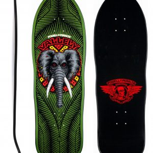 """POWELL PERALTA """"Elephant"""" Mike Vallely Pro Model Green"""