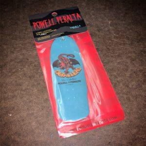 Powell Peralta Steve Caballero Cab Dragon Air Freshener Blue - Vanilla Scent