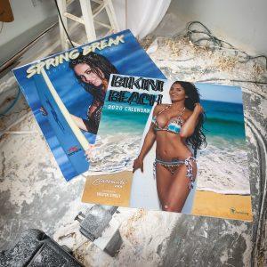 2020 RC Surfboards Bikini Beach Calendar with FREE 2019 Spring Break Calendar