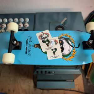 Powell Peralta Mike McGill Skull and Snake complete with Stickers and Lapel Pin