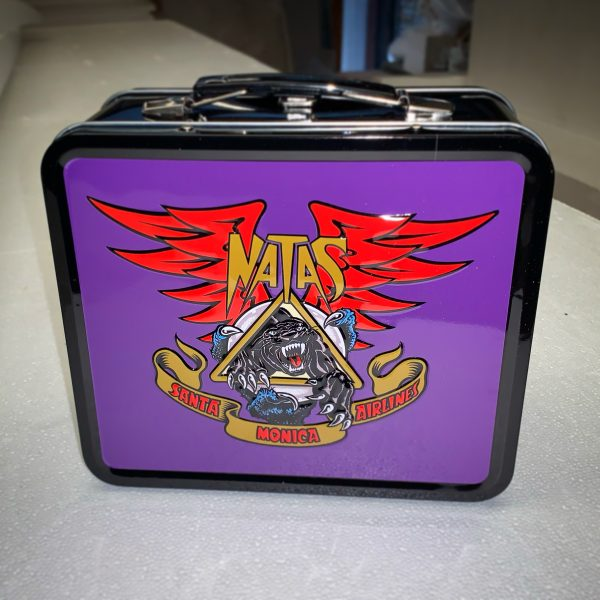 Santa Cruz Skateboards / Santa Monica Airlines Natas Kaupas Panther Lunch Box