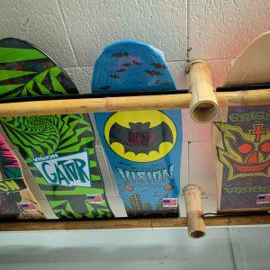 4 Old School Vision Skateboards Package