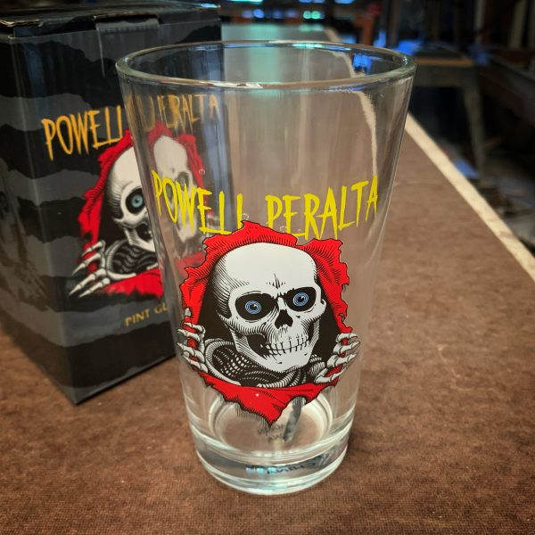 Powell Peralta Skateboarding Ripper Pint Glass