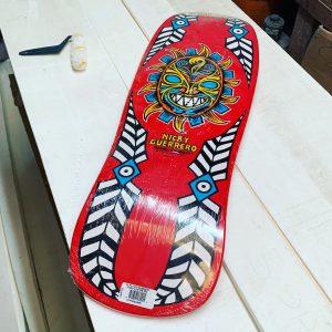 Powell Peralta Nicky Guerrero Mask 10.0 Skateboard Deck