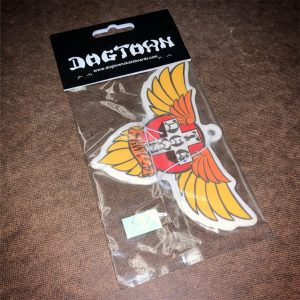 Dogtown Skateboards Wings Air Freshener / Cherry
