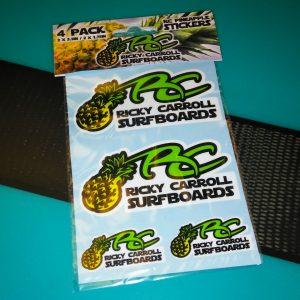 Ricky Carroll Surfboards Pineapple Die Cut Sticker