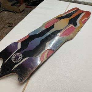 Krooked Mike Vallely Guest Board Street Phantom Deck