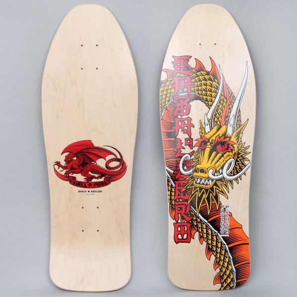 Powell Peralta 10.47 Bones Brigade Caballero 11th Reissue Skateboard Deck Natural