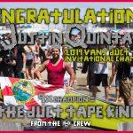 Congratulations Justin Quintal winner of the 2019 The Vans Joel Tudor Duct Tape Invitational
