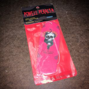 Powell Peralta Mike McGill Skull & Snake Skateboard Air Freshener Pink - Cherry Scent