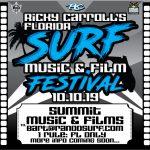 Ricky Carroll's Florida Surf Music & Film Festival 10/10/19