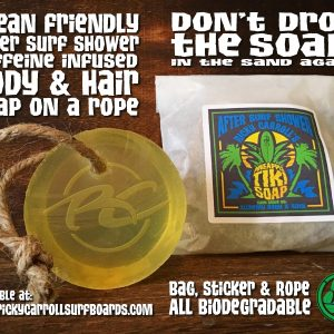 Ricky Carroll's Pineapple Tiki Caffeine Infused Soap on a Rope