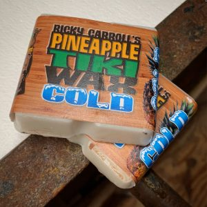 Ricky Carroll's Pineapple Tiki Surf Wax / Cold 6 pack