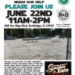 Let's Help the Skate Park at the Dick Blake Park in Rockledge, FL