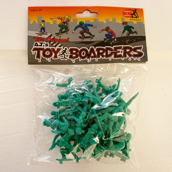 Toy Boarders Skate / Green / 24 Pack / Skate Series 1