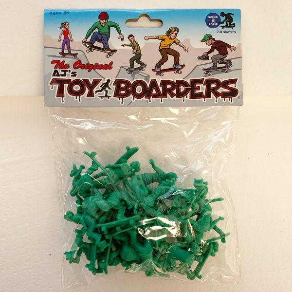 Toy Boarders Skate / Green / 24 Pack / Skate Series 2