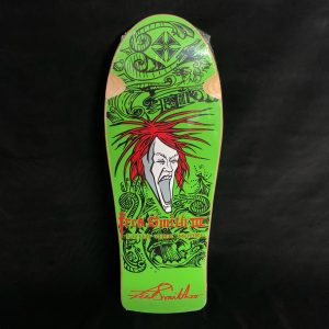 Very Rare Hard to Find > Limited Edition Fred Smith 3 Beer City Loud One Reissue Skateboard Deck ALVA Green