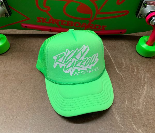 80s Surf Ricky Carroll Surfboards Shapes Awesome Trucker Hat