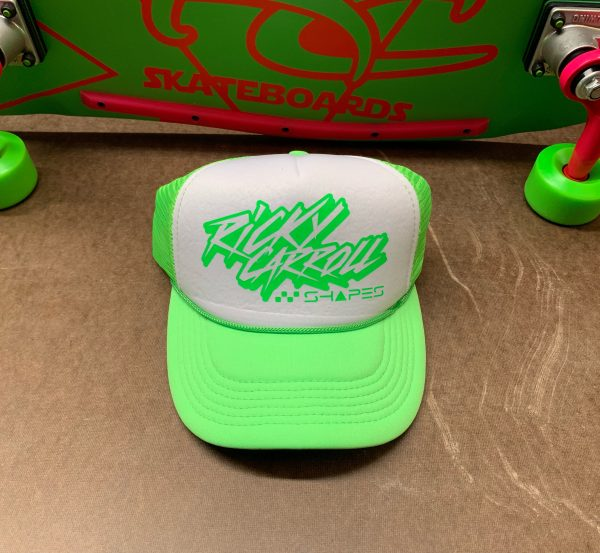 Totally Rad Ricky Carroll Shapes / Surfboards 80s Trucker Hat / GW