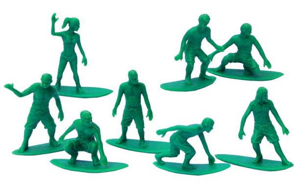 Toy Boarders Surf / Green / 24 Pack / Series 1
